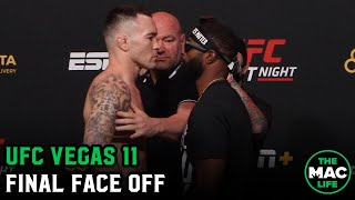 Colby Covington and Tyron Woodley finally face off | UFC Vegas 11