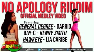 No Apology Riddim Medley Pt 1 [Official Music Video] ▶Dancehall 2016