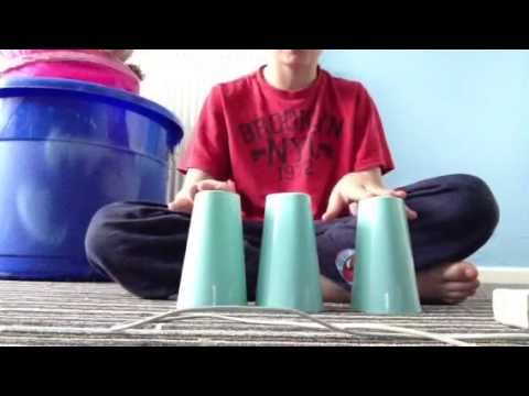 The cup song tutorial 3 cups
