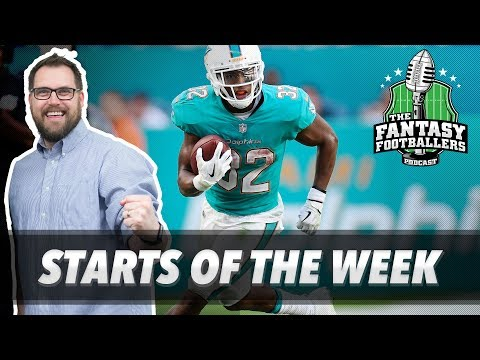 Fantasy Football 2017 - Starts of the Week, Week 15 Matchups, Boom Boom - Ep. #499
