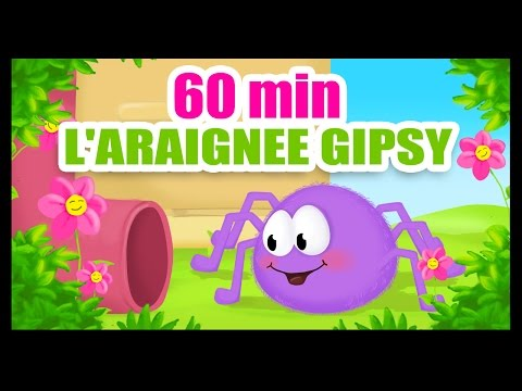 L'araignée Gipsy - 60 min de comptines des Titounis !