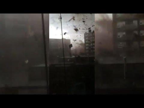 Tornado chaos caught on camera near Ottawa, Canada