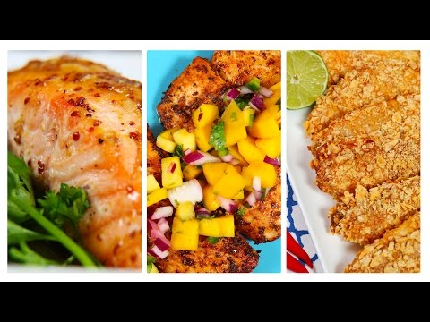 3 Healthy Fish Recipes | Dinner Made Easy