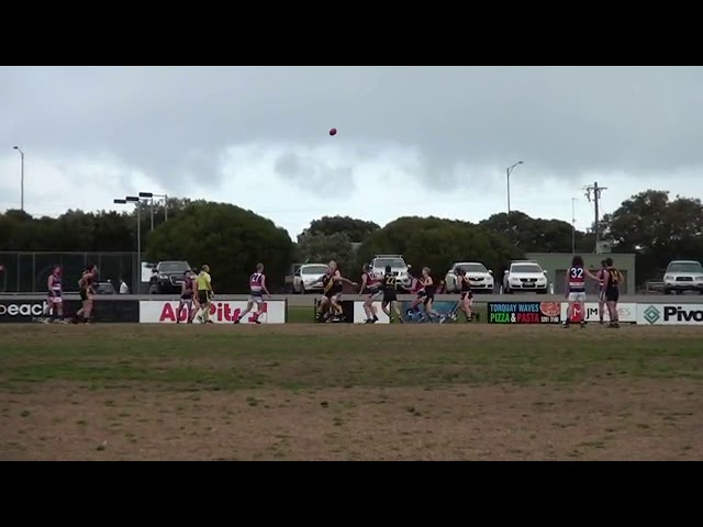 Rd 16 Torquay vs Queenscliff Ball Ups