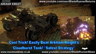 Cool Trick! Easily Beat Arkham Knight