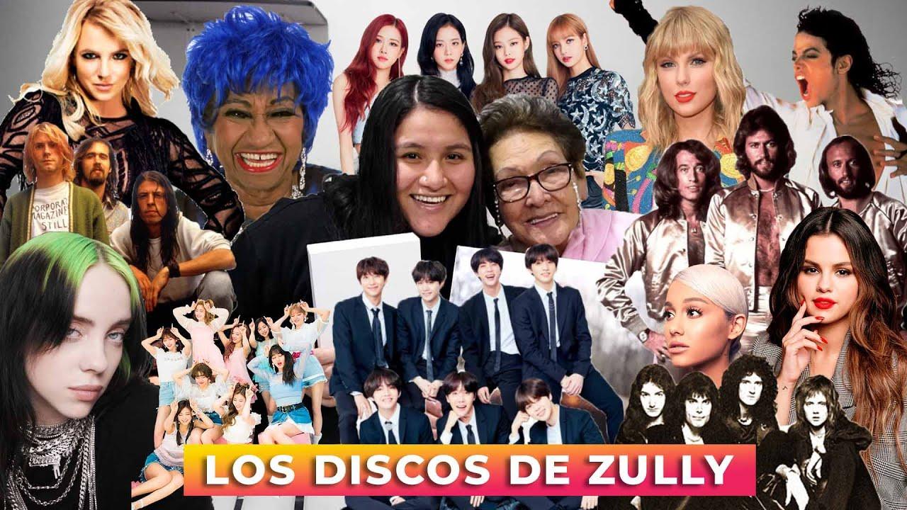 LOS DISCOS DE ZULLY ¡Taylor Swift, Michael Jackson, BTS, Britney Spears y más! - La Abuela Norma