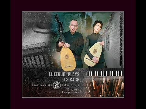 LUTEDUO PLAYS J.S. BACH CD   Www.luteduo.com