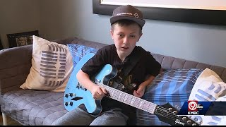 Shawnee Boy Shows Foo Fighters He Can Play A Mean Guitar