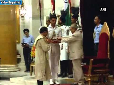 President presents Sangeet Natak Akademi Awards