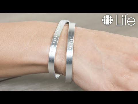 DIY Personalized Stamped Bracelet | CBC Life