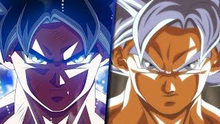 Mastered Ultra Instinct vs Ultra Instinct Omen in Dragon Ball Super