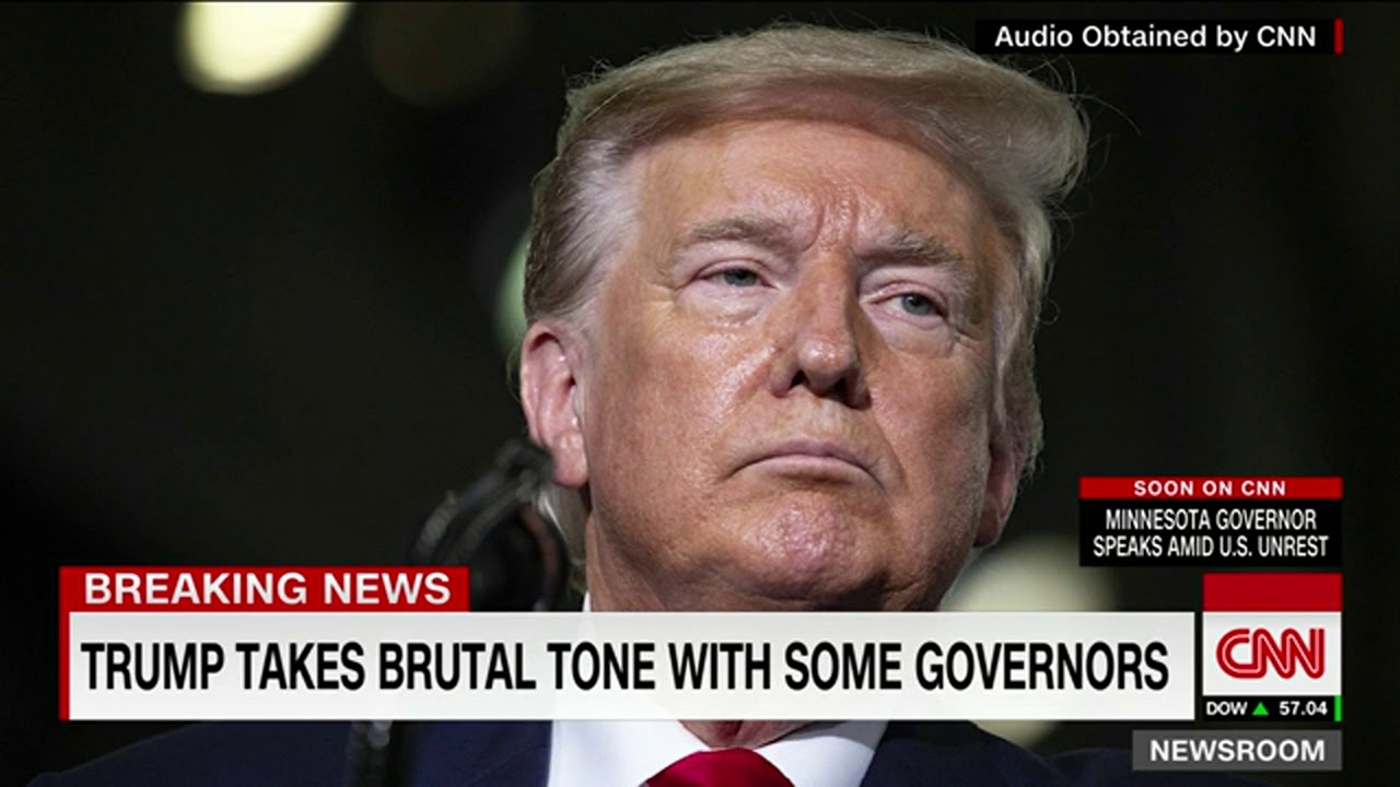 An agitated Trump encourages governors to use aggressive tactics ...