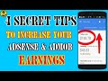 4 Most Secret Tips to Increase your AdSense & AdMob Earnings by TricksWala