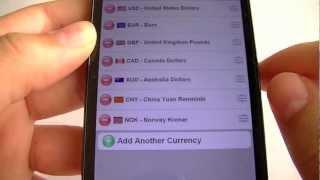 XE currency para Android (calculo de cambio de moneda)