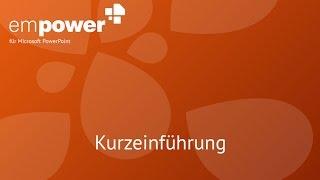 empower für PowerPoint | Kurzeinführung
