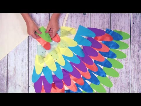 We made it by jennifer garner kids bird costume youtube we made it by jennifer garner kids bird costume solutioingenieria Image collections