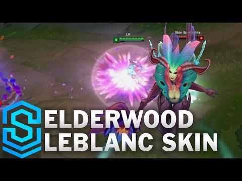Elderwood LeBlanc Skin Spotlight - Pre-Release - League of Legends