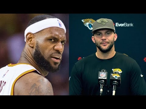 Jags QB Blake Bortles Just Compared Himself to LeBron James