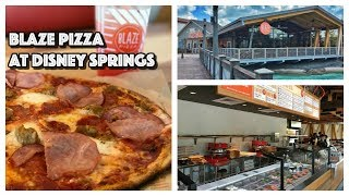 DINING REVIEW: Blaze Pizza at Disney Springs