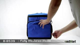 Admart Products - Deluxe Foldable Rolling Cooler Bag B-8539