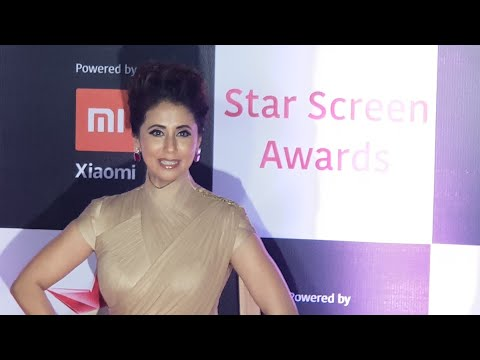 Urmila matondkar At Star Screen Awards 2018