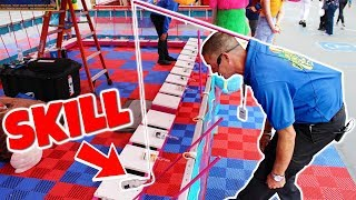 CARNIVAL GAMES ARE NOT RIGGED, ITS SKILL!