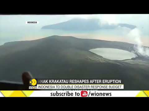 New video reveals extent of Indonesia volcano collapse