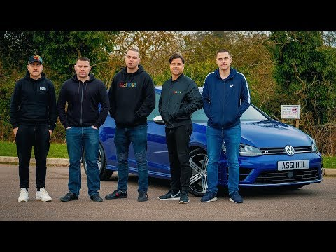 5 Brothers And A 600BHP Golf R
