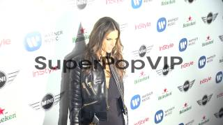Alessandra Ambrosio at Warner Music Group GRAMMY Celebrat...