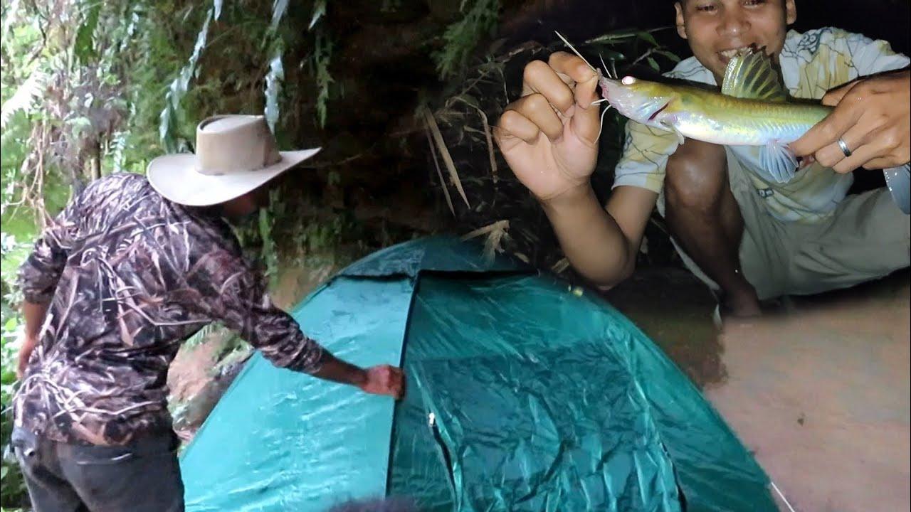 FISHING CAMP perdana di spot bebatuan ...