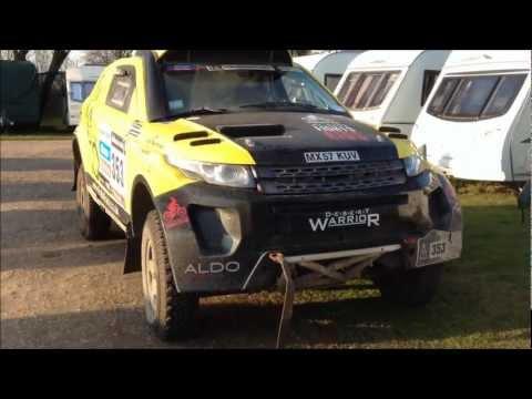 RallyRaid UK Desert Warrior D4WN5 Range Rover Evoque walk round and inside look.