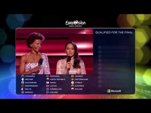 Eurovision 2015 - Semifinal 2 - Official Results [HD]