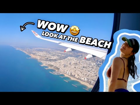 FLYING To ISRAEL For The FIRST TIME