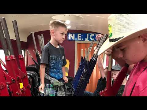 Rochester & Genesee Valley Railroad Museum Steam Engine 2017