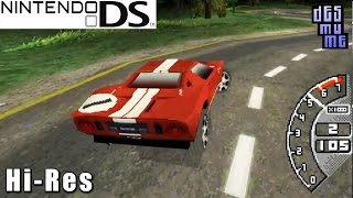 Ford Racing 3 - Nintendo DS Gameplay High Resolution (DeSmuME)