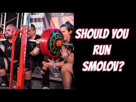 WHY YOU SHOULD NOT RUN SMOLOV