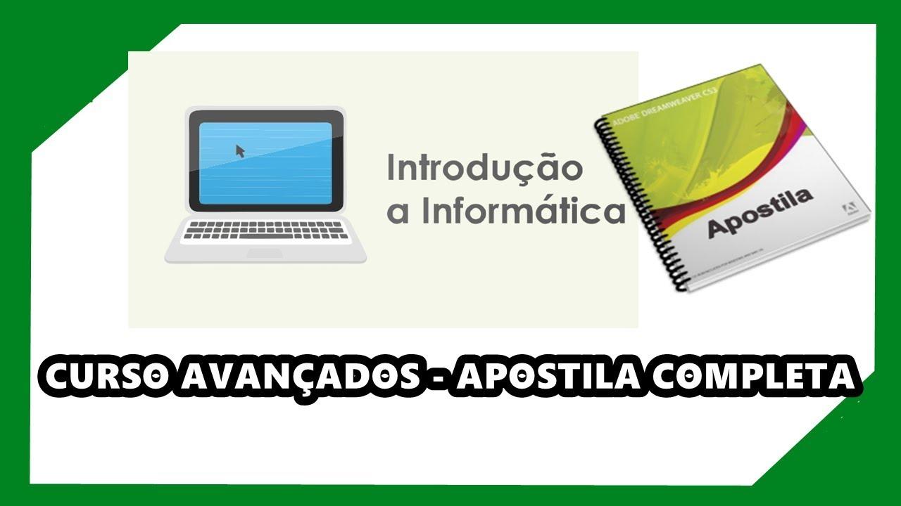 DREAMWEAVER DE BAIXAR CS3 APOSTILA