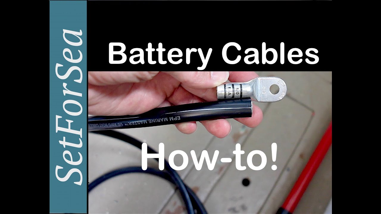 Battery Cables How To Correctly Make A Crimp Terminal End