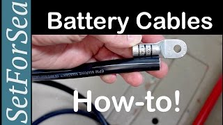 Battery Cables: How T๐ Correctly Make A Crimp Terminal End