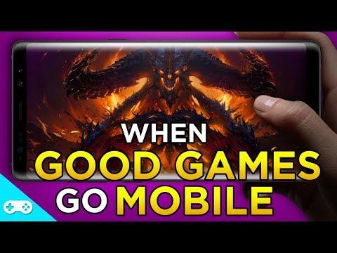 When Good Games Go Mobile