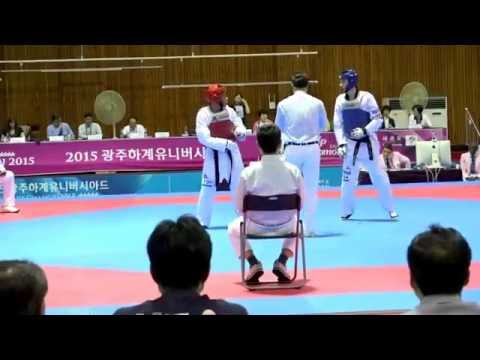 4th Day Sparring at Universiade Game 2015