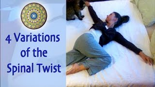 Spinal Twist for Detox, Adrenal Fatigue, Back Pain and More