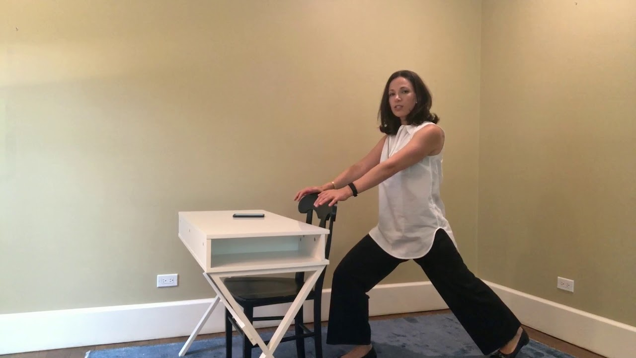 UYTT - 12 minute Desk + Chair Yoga Class