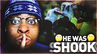 TRASH TALKER WAS SHOOK WHEN I PUT MY MIC IN! ELITE PLAYER PACKS! PACK AND PLAY GAMEPLAY!  MADDEN 18