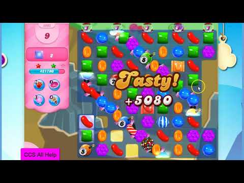 Candy Crush Saga Level 2902 20 moves NO BOOSTERS Cookie