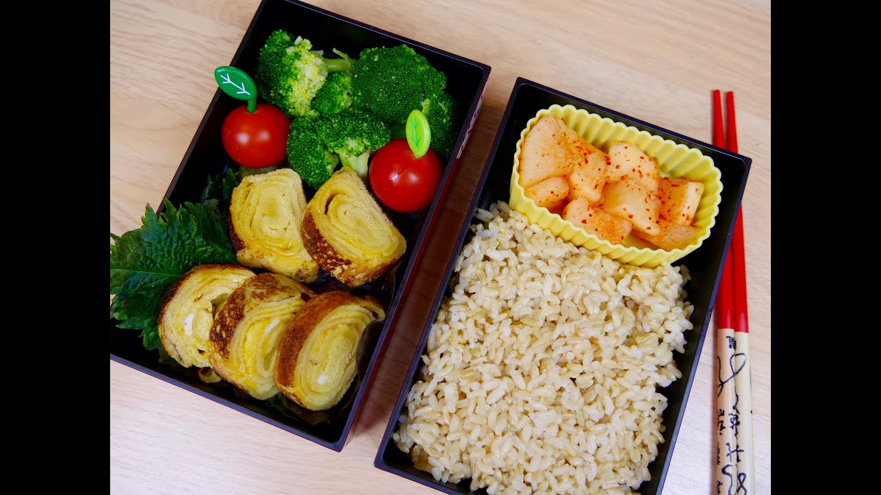 bento box selber machen einfaches rezept f r japanische lunchbox youtube. Black Bedroom Furniture Sets. Home Design Ideas