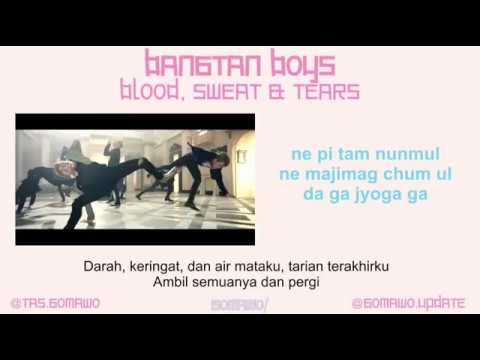 BTS - BLOOD, SWEAT & TEARS [MV, EASY LYRIC, LIRIK INDONESIA]