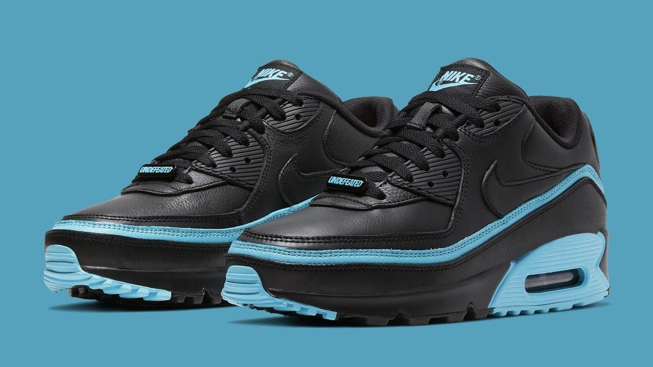 Undefeated X Nike Air Max 90 Black & Blue (Cop O Drop)