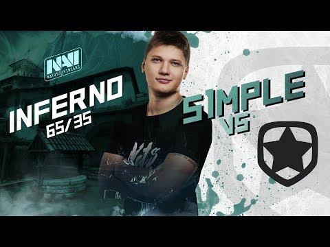 NAVI POV: s1mple vs Gambit @ DreamHack Open Winter 2017