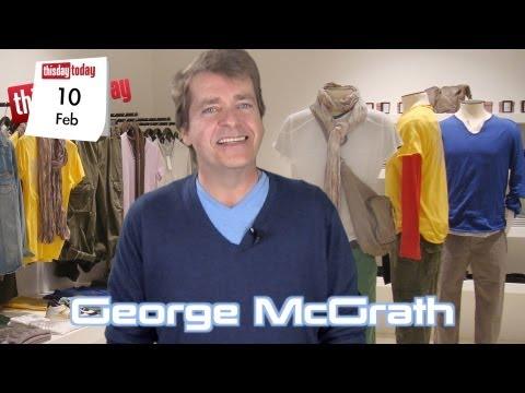 February 10: Singing Telegrams.: George McGrath